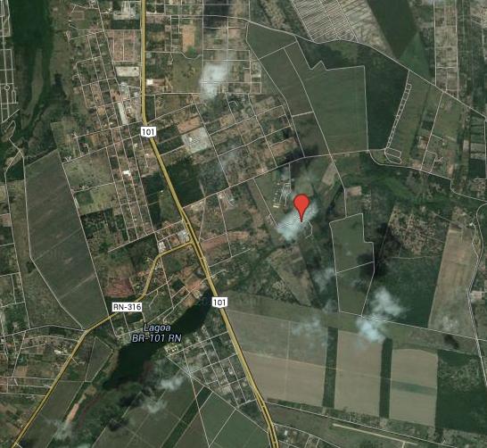 Localização do Vale Verde Hotel Fazenda - Clik para ampliar o mapa